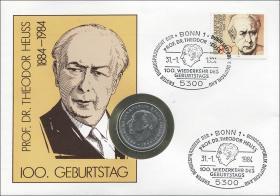 B-0048 • Theodor Heuss - 100.Geburtstag