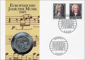 B-0060 • Europ. Jahr der Musik > 3 Noten