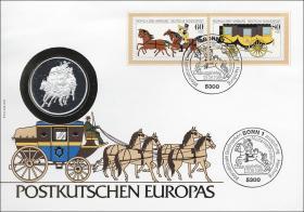 B-0064 • Postkutschen Europas