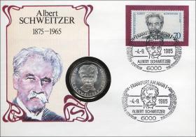 B-0065 • Albert Schweitzer 1875 - 1965