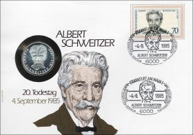 B-0066 • Albert Schweitzer - 20.Todestag