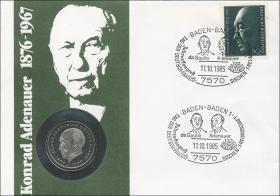 B-0069 • Konrad Adenauer 1876-1967