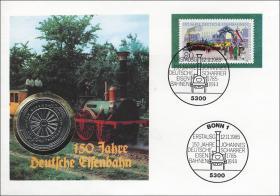 B-0072 • Eisenbahn, 150 Jahre