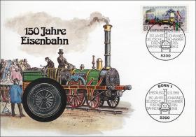 B-0075 • 150 Jahre Eisenbahn
