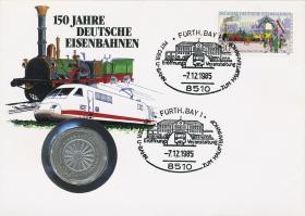 B-0080.a • 150 Jahre Eisenbahn >Fürth<