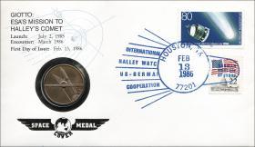 B-0084 • Giotto / Halley Komet