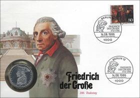 B-0097 • Friedrich d. Große, 200.Todestag