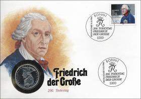 B-0099 • Friedrich d. Große, 200.Todestag