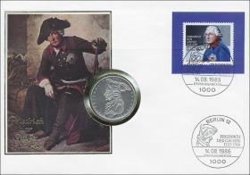 B-0100 • Friedrich d. Große, 200.Todestag