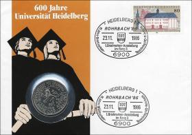 B-0111 • 600 J. Universität Heidelberg II. Auflage