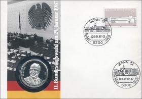 B-0124 • 11.Bundestagswahl 25.1.1987