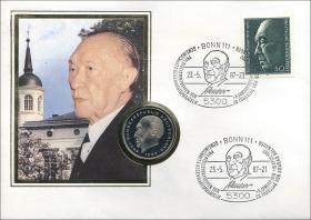 B-0145 • Konrad Adenauer - 20.Todestag
