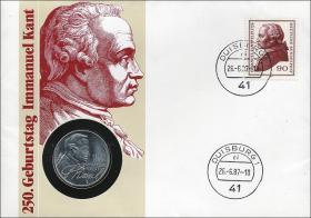 B-0147 • Kant, 250.Geburtstag