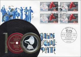 B-0148 • 100 Jahre Schallplatte