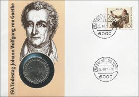B-0149 • Johann Wolfgang v. Goethe > braun