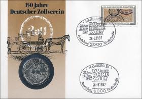 B-0151 • 150 Jahre Deutscher Zollverein