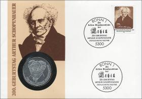 B-0173 • Arthur Schopenhauer >Bildnis n. links
