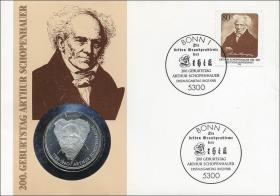B-0174 • Arthur Schopenhauer > Bildnis n. rechts