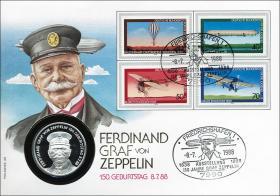 B-0200 • Graf Zeppelin - 150. Geburtstag