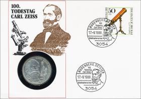 B-0206.b • Carl Zeiss > 50 Pfennig