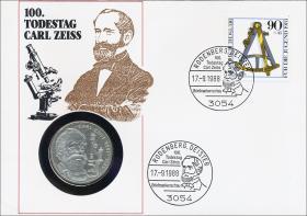 B-0206.d • Carl Zeiss > 90 Pfennig