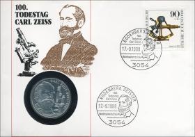 B-0207.d • Carl Zeiss > 90 Pfennig Berlin