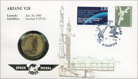B-0224 • Space-Medal: Ariane V28