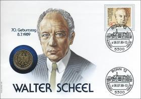 B-0264 • Walter Scheel - 70. Geburtstag