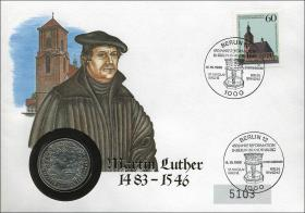 B-0281 • Martin Luther 1483-1546