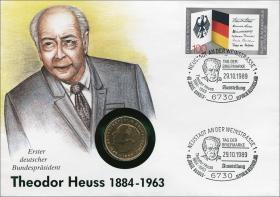 B-0285 • Theodor Heuss 1884 - 1963