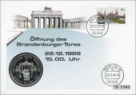 B-0293.a • Öffnung Brandenburger Tor >40 Pf.<