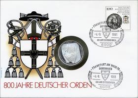 B-0304.b • Deutscher Orden, 800 Jahre