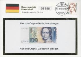 B-0353 • Clara Schumann - Ersttag 100 DM Note