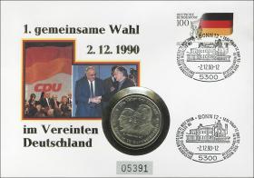 B-0369 • 1. gemeinsame Wahl - 2.12.1991