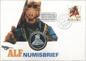 B-0405 • Alf Numisbrief