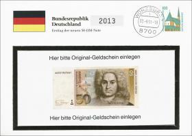 B-0446 • B. Neumann - Ersttag 50 DM Note
