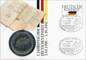 B-0447 • Deutsche Einheit, 1.Jahrestag