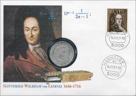B-0455 • Leibniz 1646 - 1716