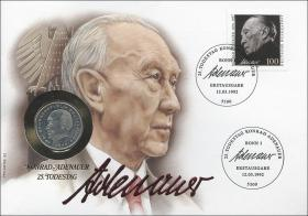 B-0487 • Konrad Adenauer - 25.Todestag