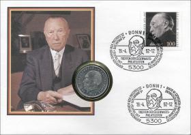 B-0501 • Konrad Adenauer - 25. Todestag