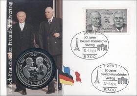 B-0578 • Dt.-Franz. Freundschaftsvertrag
