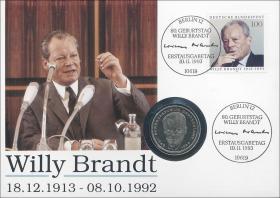 B-0678 • Willy Brandt 18.12.1913 - 8.10.1992