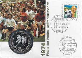 B-0744 • 1974 Finale der Fußball WM