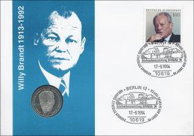 B-0782 • Willy Brandt 1913 - 1992