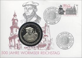 B-0801 • 500 Jahre Wormser Reichstag - Martin Luther