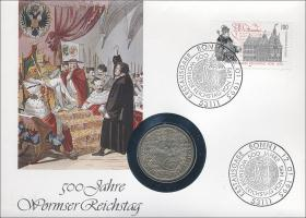 B-0802 • 500 Jahre Wormser Reichstag - Martin Luther