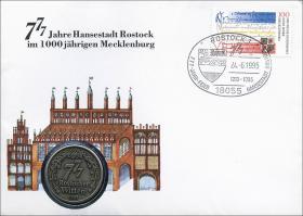 B-0850 • 777 Jahre Hansestadt Rostock