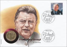 B-0868 • F. J. Strauß - 80. Geburtstag