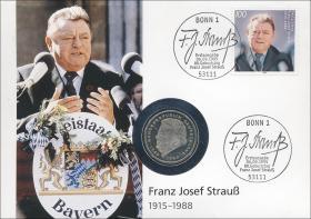 B-0869 • F. J. Strauß 1915-1988