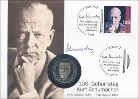 B-0878 • Kurt Schumacher - 100. Geburtstag